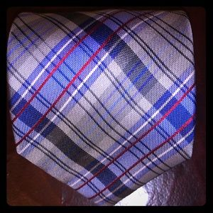 Ben Sherman plaid Silk Tie 👔